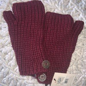 Ugh fingerless gloves